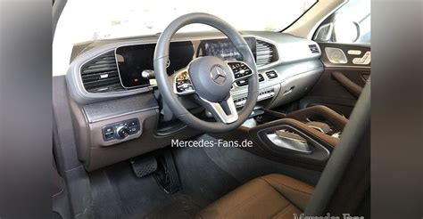 mercedes benz gle interior leaked caradvice