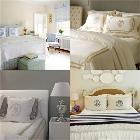 The Southern Thing Monogrammed Bedding Obsession