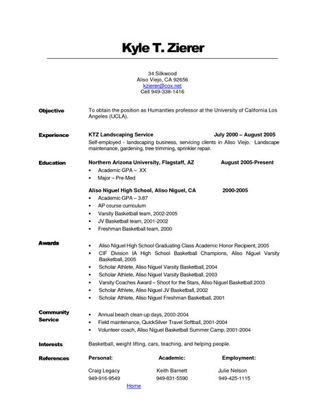 Landscaping Resume Description by Rtf Landscape Resume Description