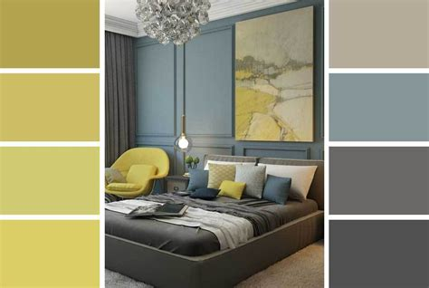 grey  yellow room decorating ideas hutsly