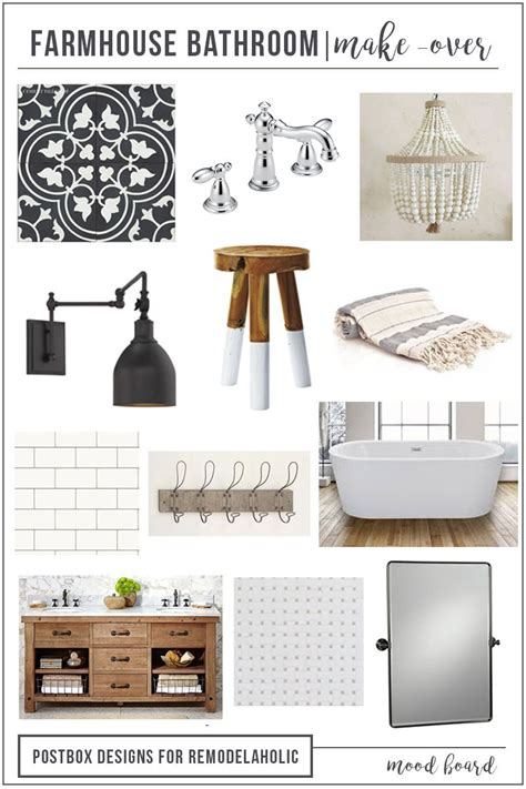 remodelaholic create  timeless farmhouse bathroom