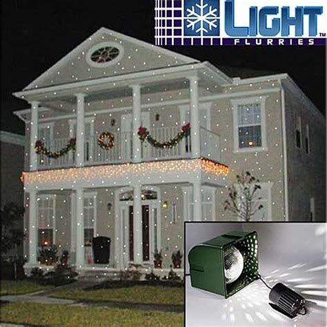 christmas falling snow projectors light flurries snowflake projector