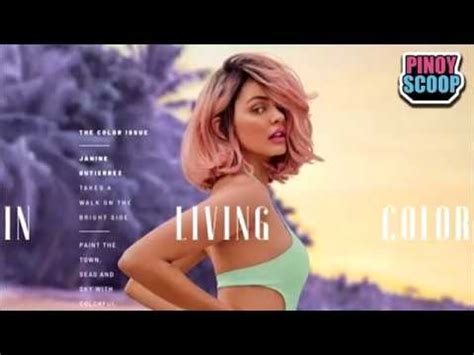 janine gutierrez preview cover janine gutierrez preview covers have fans gush over youtube