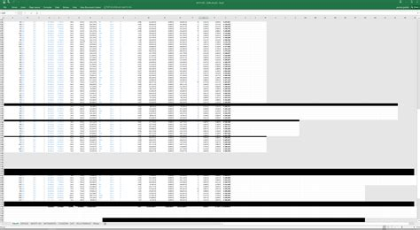 Windows 10 Excel Grey And Black Boxes On Secondary