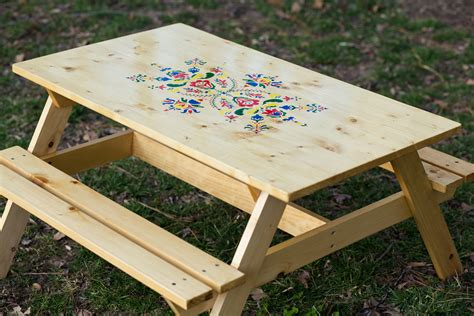 white preschool picnic table diy projects 447 | IMG 2844