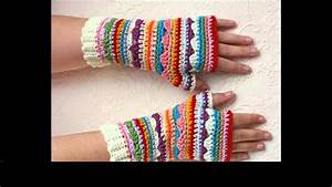 Crochet Gloves Without Fingers