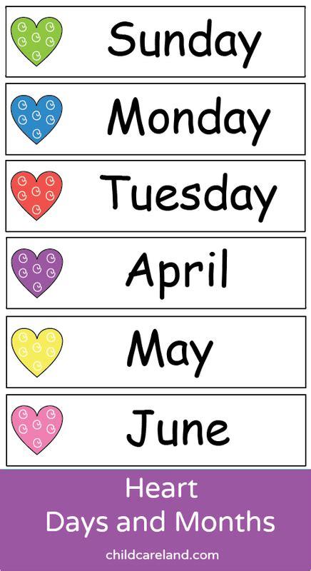 heart days  months