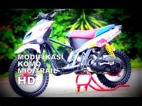 Modif Mio Soul Trail by Modif Mio Sporty Trail Modifikasi Motor Kawasaki Honda