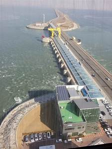 Yoo Drawing  Sketches At The Sihwa Lake Tidal Power Plant