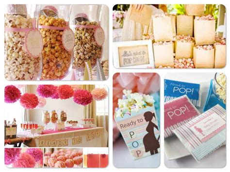 trendy baby shower themes ideas trendy baby shower ideas with popcorn theme trendy