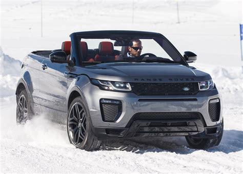 range rover evoque convertible price announced cars co za