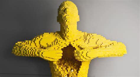 making lego  art nathan sawayas impossible brick