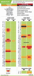 Bison Futé 2018 : infographie les pr visions de bison fut pour les vacances de juillet et ao t var matin ~ Maxctalentgroup.com Avis de Voitures