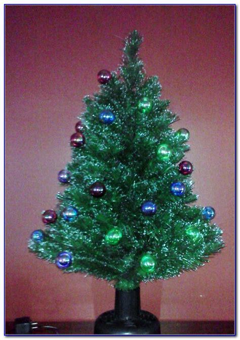 fiber optic tabletop christmas trees  page home
