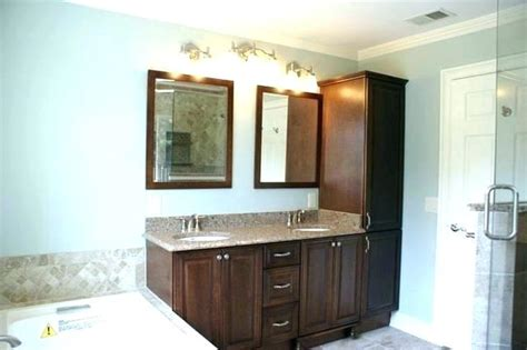 Bathroom Vanity And Linen Cabinet Sets-bathroom Design Ideas