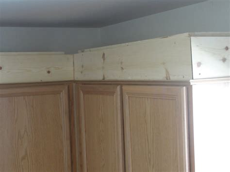 kitchen cabinet crown molding to how to install crown molding on top of kitchen cabinets