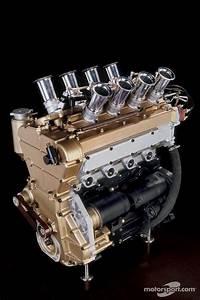 M10 Bmw Radial Valve Engine  Formula 2