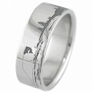 the whole ring fishing scene ring fishing rings With fishing wedding ring
