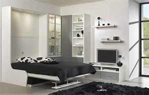 Lit Dans Armoire : lit dans armoire homeandgarden ~ Premium-room.com Idées de Décoration