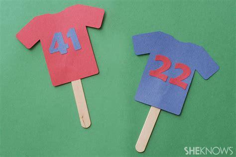 4 bowl crafts for 264 | construction paper jerseys wcufmu