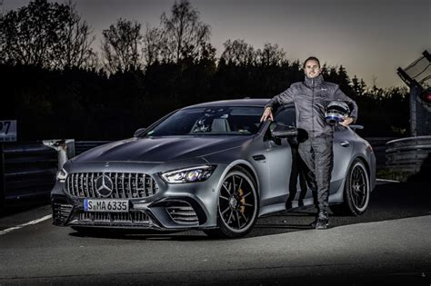 Read about it's performance, design, and interior tba mpg^ highway fuel economy. 2021 Mercedes-AMG GT 63 S 4-Door Coupe made faster—Nürburgring proves it