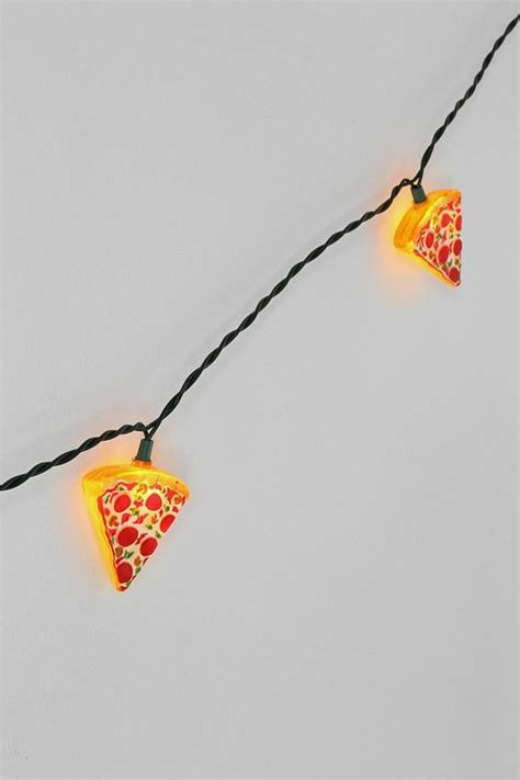 pizza string lights pizza string lights pepperoni pizza and awesome
