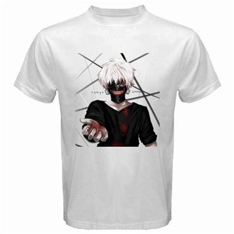 new tokyo ghoul anime s white t shirt size s to