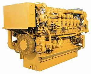 Caterpillar 3516b Hd Scac Diesel Marine Engine Item