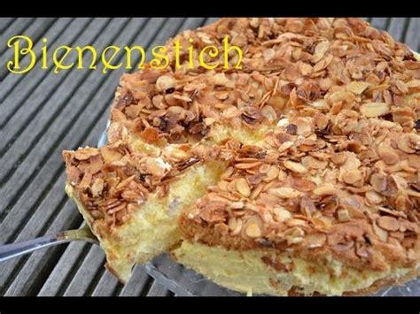 kuchen einfach und schnell diy bienenstich selber machen rezept kuchen schnell einfach backen back lounge rezepte