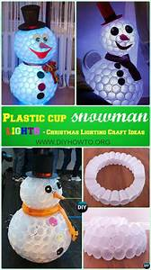 Diy, Outdoor, Christmas, Lighting, Craft, Ideas