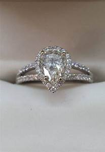 15 photo of pear shaped engagement rings with wedding bands With pear wedding rings