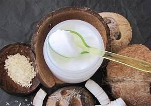Recette Masque Cheveux Secs : huile de coco et cheveux bain d 39 huile application et recettes maison cheveux secs boucl s ~ Nature-et-papiers.com Idées de Décoration