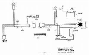 Dixon Ztr 308  1987  Parts Diagram For Wiring Assembly
