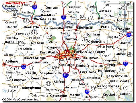 irving texas map