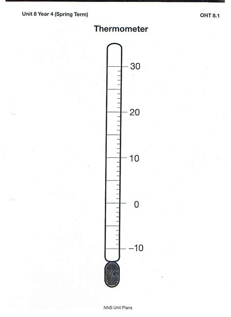 thermometer worksheets for kindergarten thermometer