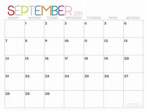 2014 Printable Calendars  Fresh Designs