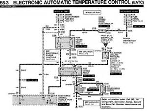 I Need An A  C Control Head Wiring Diagram For A 93 Lincoln Town Car  I Am Specifically Looking