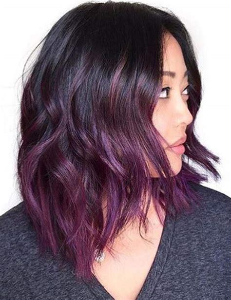 cheveux violets la tendance qui nous s 233 duit femme actuelle