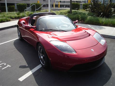 Tesla Car : Tesla Roadster