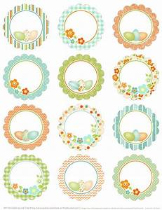 round easter labels free printables on blog worldlabel With how to print round stickers