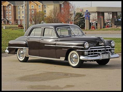 1950 Chrysler Windsor - Information and photos - MOMENTcar