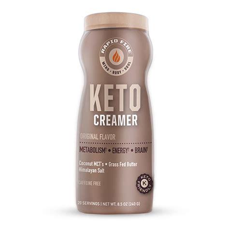 Best low carb keto coffee creamers creamer reviews. Rapid Fire Ketogenic Original Coffee Creamer, 8.5 Oz ...