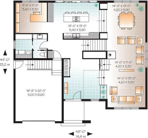 Modern Style House Plan 4 Beds 2 5 Baths 3198 Sq/Ft Plan