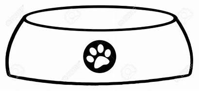 Dog Bone Outline Bowl Graphics Clipartmag
