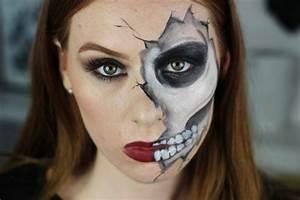 Idée Pour Halloween : maquillage squelette facile pour halloween ~ Melissatoandfro.com Idées de Décoration