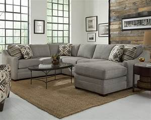 Customizable four piece sectional sofa by craftmaster for Sectional sofas wolf furniture