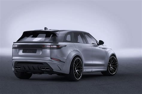 widebody range rover velar by lumma is all show with no go carscoops