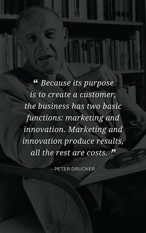 quote  peter drucker father   modern business