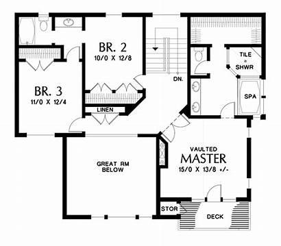 Plan Plans Upper Floor 1912 Tannen Rich