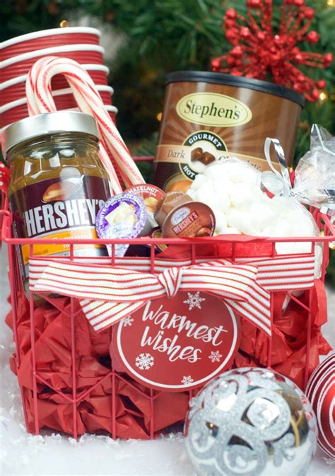 hot chocolate gift basket  christmas hot chocolate